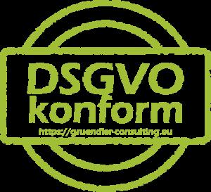 Halten Sie Ihre Firma oder Ihren Verein DSGVO konform mit der Gründler Consulting Group